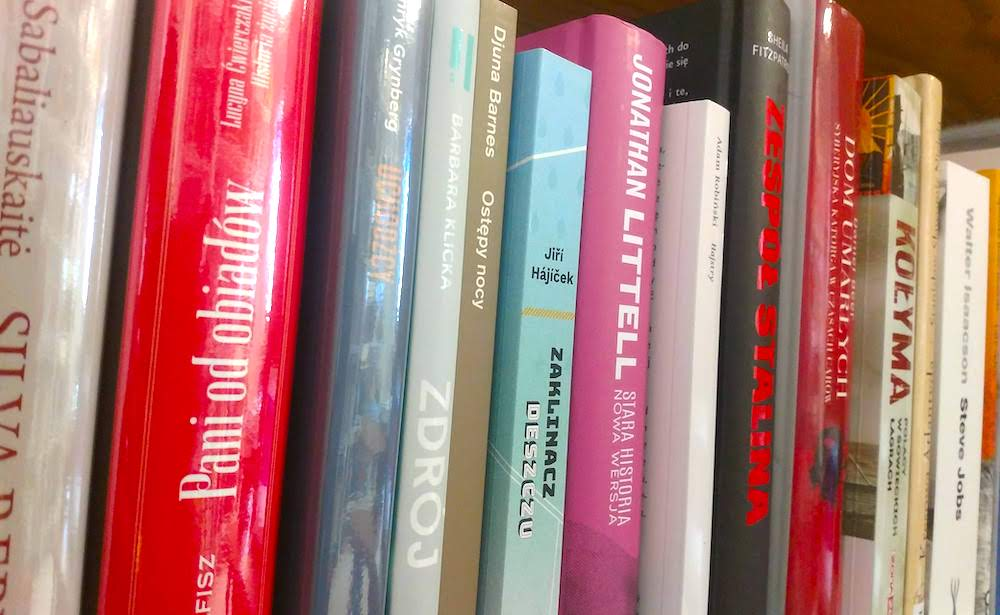 Nowe książki wbibliotece