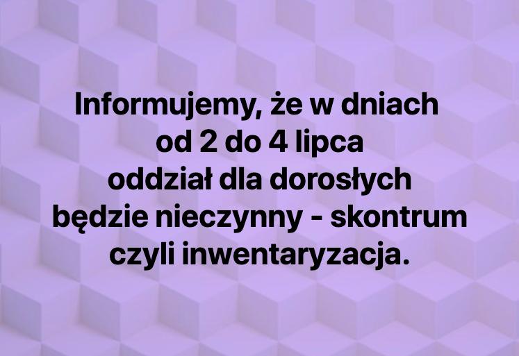 Informacja oskontrum
