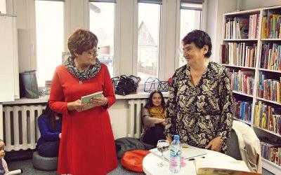 Relacja zespotkania zPanią Zofią Bigos – lokalną poetką